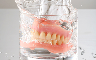 A pair of dentures